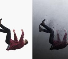 Photoshopによるちりになって消えていくエフェクトの作り方【チュートリアル】